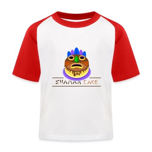 Shaman Cake Official - Maglietta da baseball per bambini
