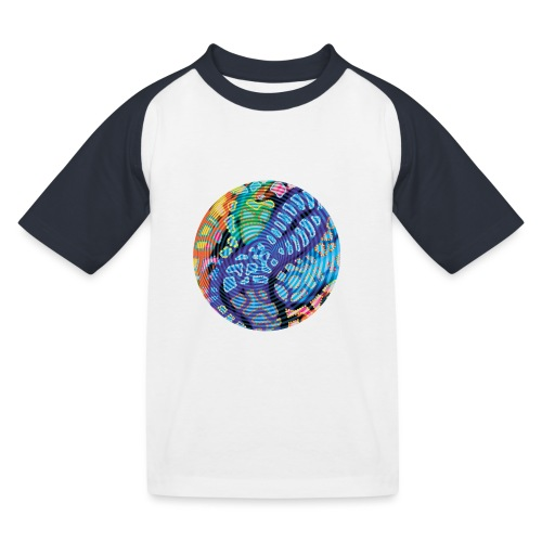 concentric - Kids' Baseball T-Shirt