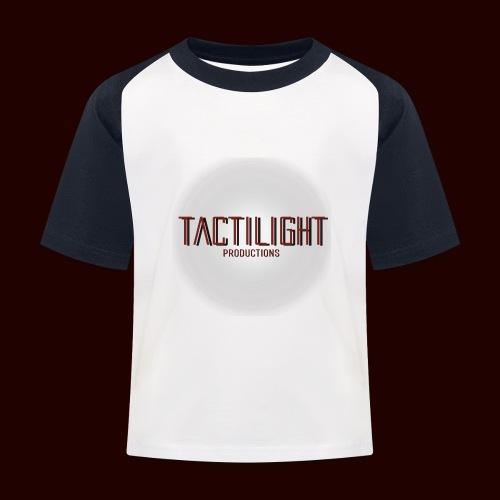 Tactilight Logo - Kids' Baseball T-Shirt