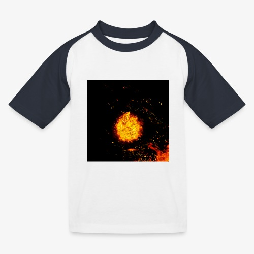 FIRE BEAST - Kinderen baseball T-shirt