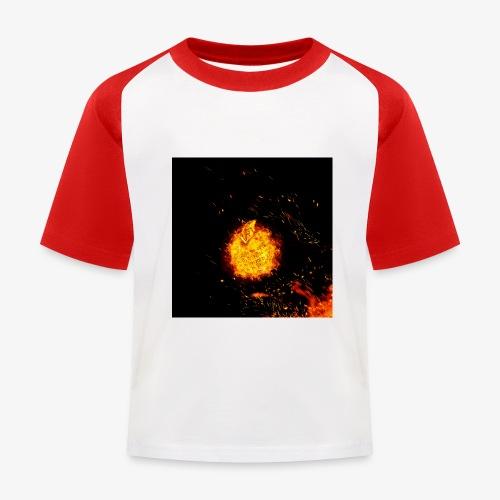 FIRE BEAST - Kinderen baseball T-shirt