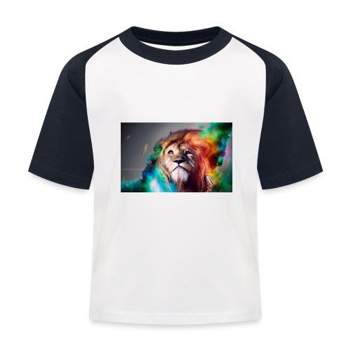 hero lion - T-shirt baseball Enfant