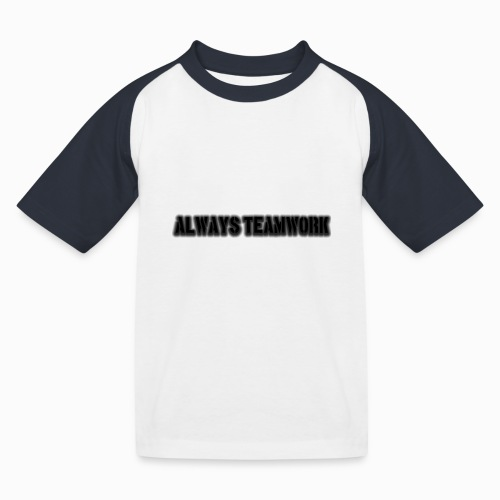 at team - Kinderen baseball T-shirt