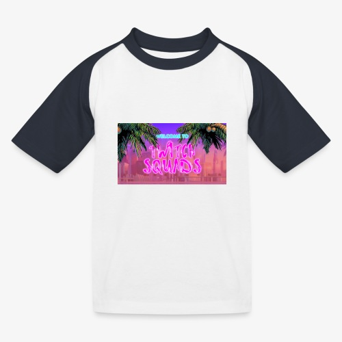 Welcome To Twitch Squads - Kids' Baseball T-Shirt