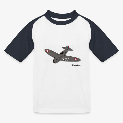 D551 - T-shirt baseball Enfant