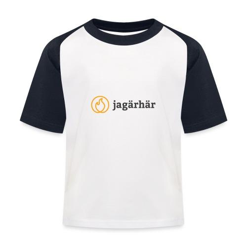 #jagärhär - Baseboll-T-shirt barn