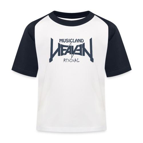 t shirt navy weiss gif - Kinder Baseball T-Shirt