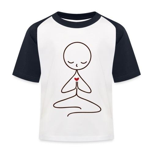 Peace & Love - Baseboll-T-shirt barn