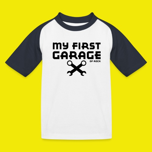 MY FIRST GARAGE - T-shirt baseball Enfant