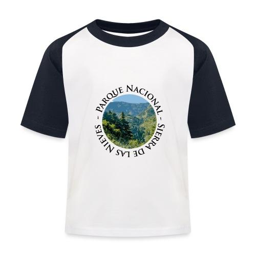 Parque Nacional Sierra de las Nieves - Camiseta béisbol niño