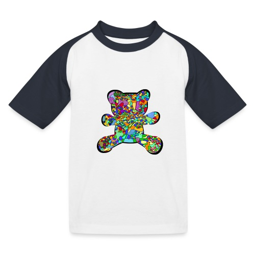 Have a colorful hug - Kids' Baseball T-Shirt