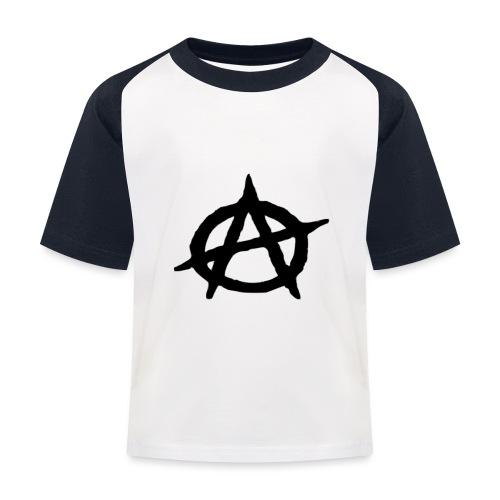 Anarchy - T-shirt baseball Enfant
