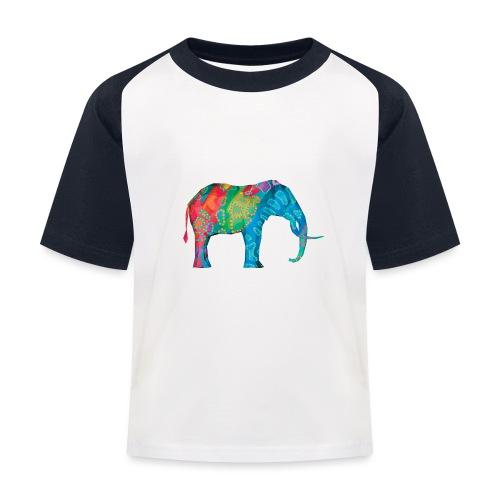 Elefant - Kids' Baseball T-Shirt
