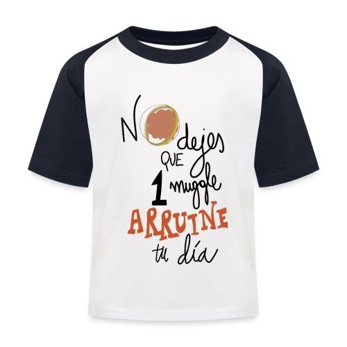 No dejes que 1 muggle arruine tu dia - Camiseta béisbol niño