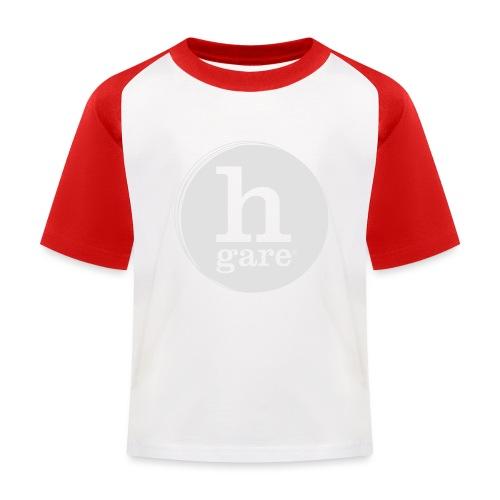 HGARE LOGO TONDO PIENO GIALLO - Maglietta da baseball per bambini