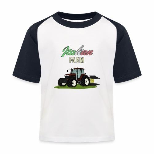 Italian Farm official T-SHIRT - Maglietta da baseball per bambini
