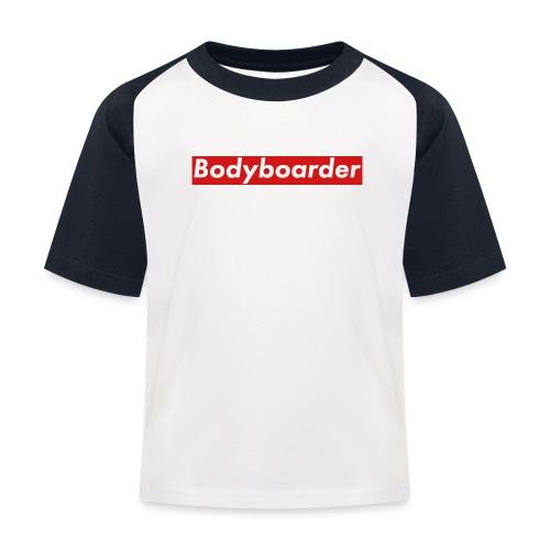 Bodyboarder - Kids' Baseball T-Shirt
