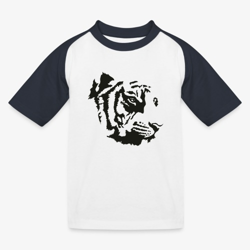 Tiger head - T-shirt baseball Enfant