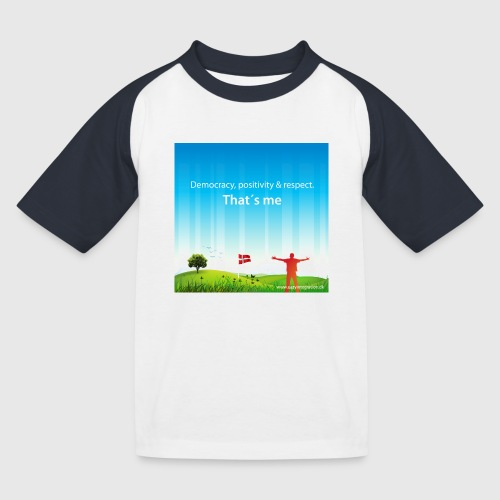 Rolling hills tshirt - Baseball T-shirt til børn