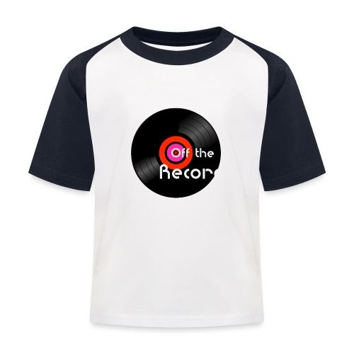 Off the Record - Lasten pesäpallo  -t-paita