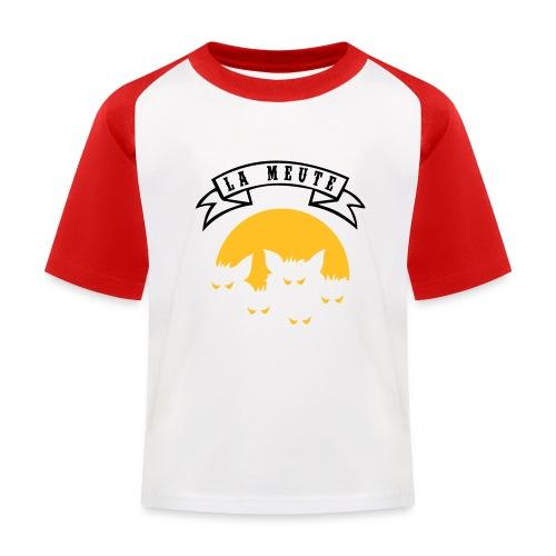 la meute - T-shirt baseball Enfant