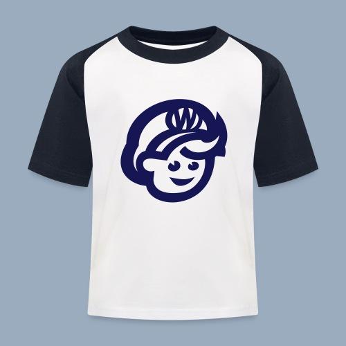 logo bb spreadshirt bb kopfonly - Kids' Baseball T-Shirt