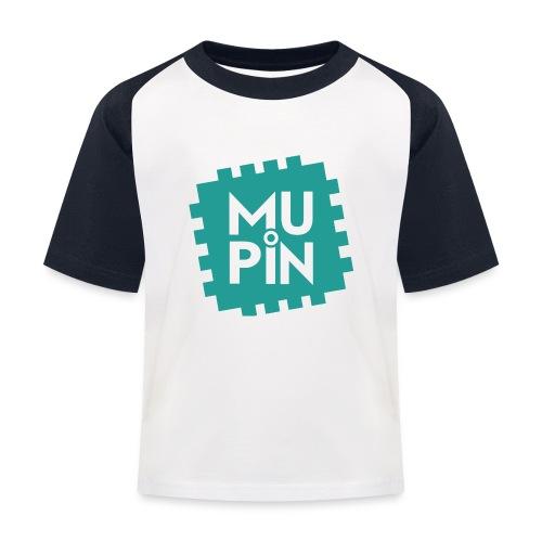 Logo Mupin quadrato - Maglietta da baseball per bambini