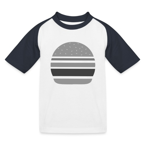 Logo_panhamburger_gris - T-shirt baseball Enfant