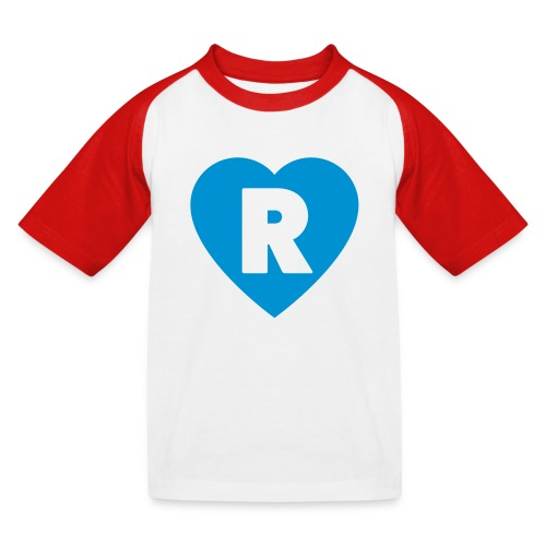 cuoRe - Maglietta da baseball per bambini