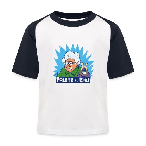 tshirt polete et kiki 1 - T-shirt baseball Enfant