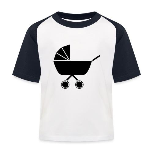 Kinderwagen - Kinder Baseball T-Shirt