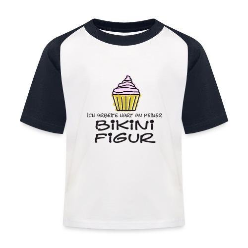 Bikinifigur - Kinder Baseball T-Shirt