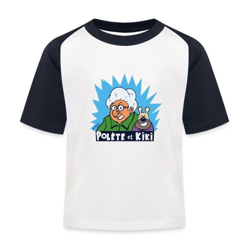 tshirt polete et kiki - T-shirt baseball Enfant