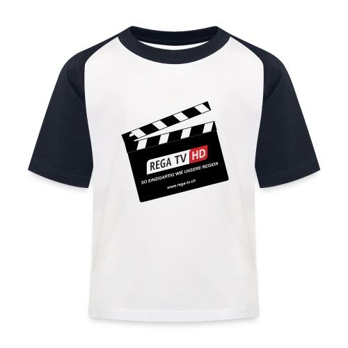 REGA-TV: Klappe - Kinder Baseball T-Shirt