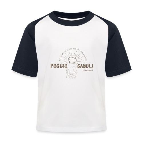 Poggio Casoli_Istituzionale - Maglietta da baseball per bambini