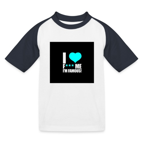 I Love FMIF Badge - T-shirt baseball Enfant