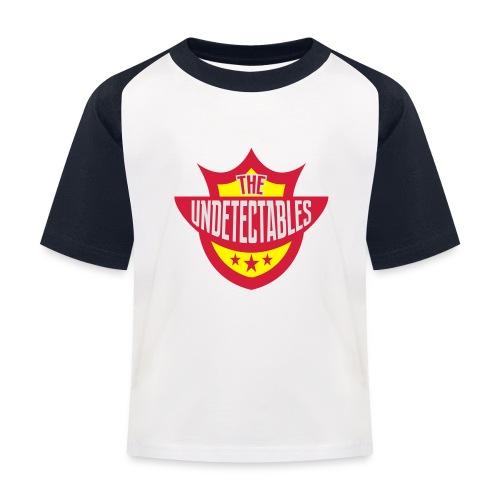 Undetectables voorkant - Kinderen baseball T-shirt