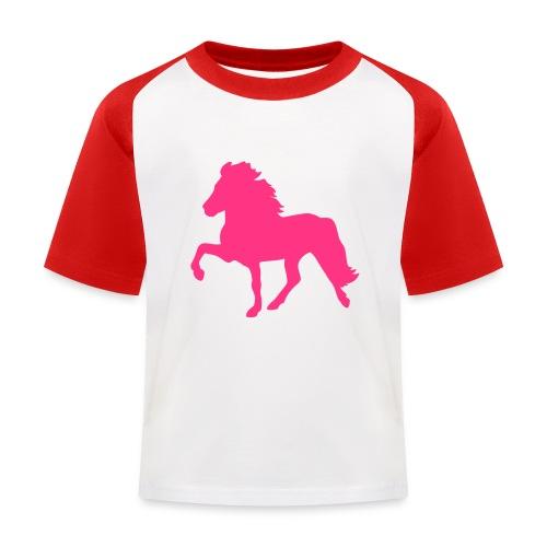 Tölter - Kinder Baseball T-Shirt