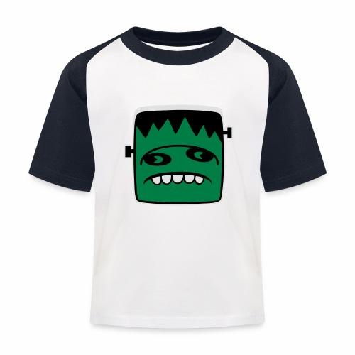 Fonster Weisser Rand ohne Text - Kinder Baseball T-Shirt
