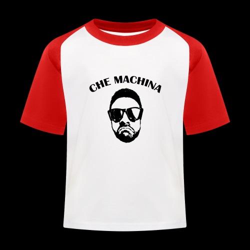 CHE MACHINA - Maglietta da baseball per bambini