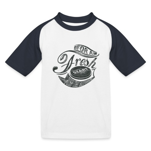 Fresh start - Kinder Baseball T-Shirt