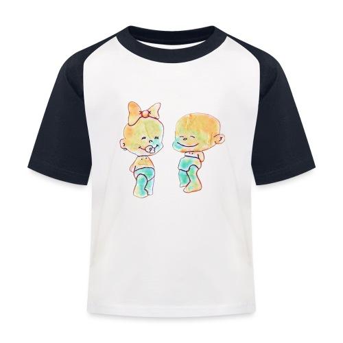 Bambini innamorati - Maglietta da baseball per bambini