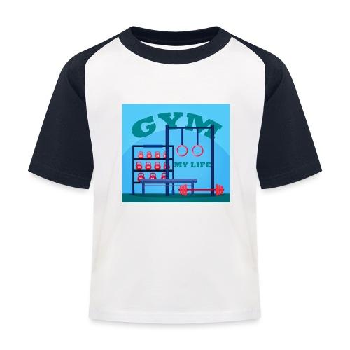 GYM - Lasten pesäpallo  -t-paita