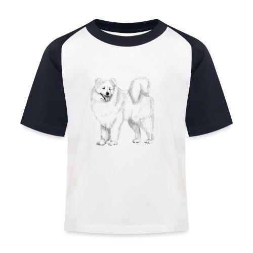 samoyed - Baseball T-shirt til børn