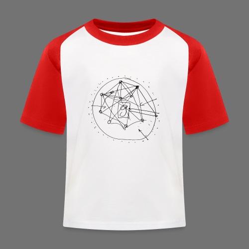 SEO strategia No.1 (musta) - Lasten pesäpallo  -t-paita