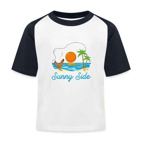 Sunny side - Maglietta da baseball per bambini