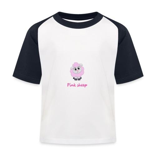 pink sheep - Kinder Baseball T-Shirt