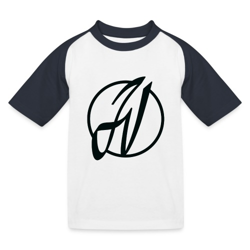 JV Guitars - logo noir - T-shirt baseball Enfant