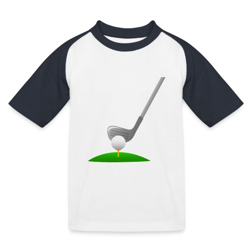 Golf Ball PNG - Camiseta béisbol niño
