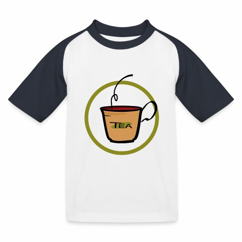 Teeemblem - Kinder Baseball T-Shirt